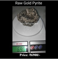 Raw Pyrite Gold Crystal Stone From Peru 690 gram