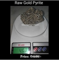 Raw Pyrite Gold Crystal Stone From Peru 462 gram