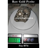Raw Pyrite Gold Crystal Stone From Peru 737 gram