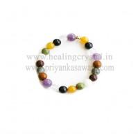 7 Chakra Crystals Bracelet - Type 1