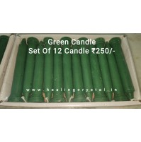 Green Stick Candle