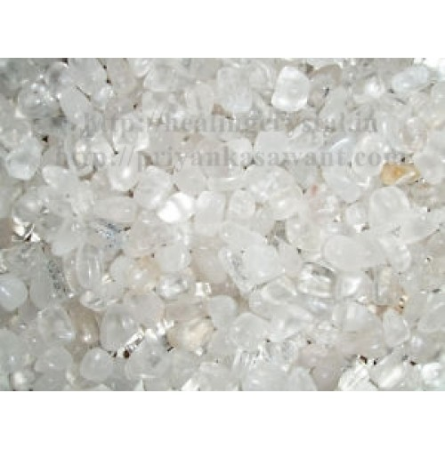 Clear Quartz Crystal Tumbled Stones 1 Kg Bag