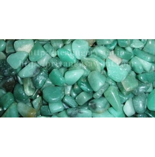 Green Aventurine Crystal Tumbled Stones 1 Kg Bag
