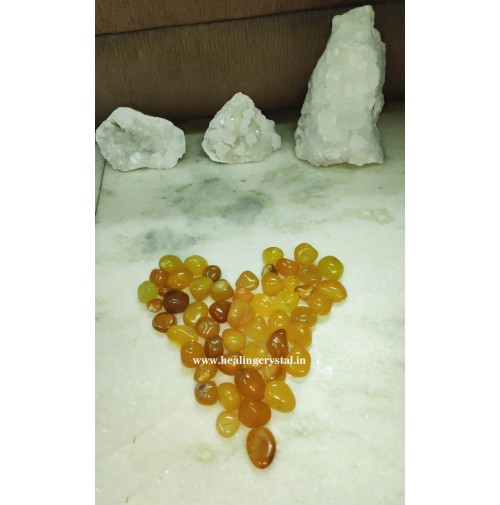 Yellow Aventurine Crystal Tumbled Stones 1 Kg Bag