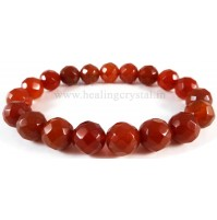 Carnelian Crystal Bracelet Type -1