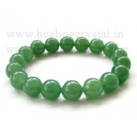 Green Aventurine Faceted Crystal Bracelet Type - 2