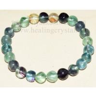 Green Fluorite Crystal Bracelet Type - 1