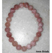 Sunstone Crystal Beads Bracelet 8 mm