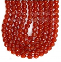 Mala Carnelian Faceted Crystal