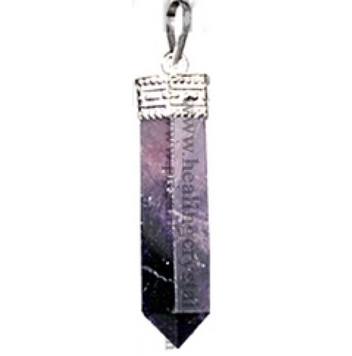 Amethyst (Pencil) Crystal Pendant Type - 2