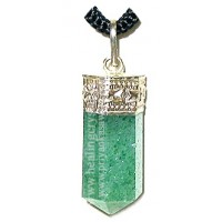 Green Aventurine (Pencil) Crystal Pendant Type - 1