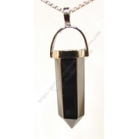 Hematite (Pencil) Crystal Pendant