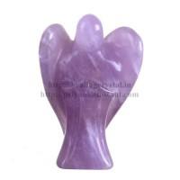 Angel Statue - (Amethyst) Crystal Stone