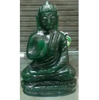 Buddha Statue - Dark (Green Aventurine) Crystal