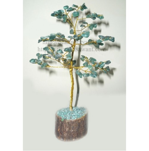 Gem Tree - Green Quartz (Aventurine) Crystal