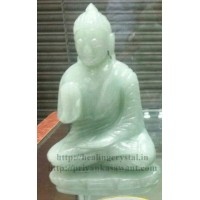 Buddha Statue - Light (Green Aventurine) Crystal