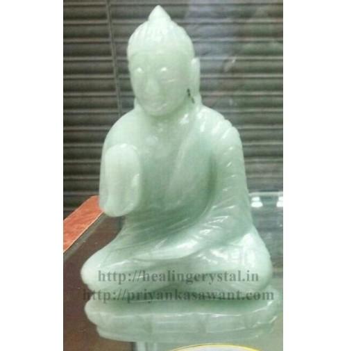 Buddha Statue - Light (Green Aventurine) Crystal