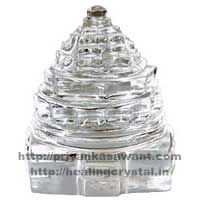 Shree Yantra - Clear Quartz Crystal