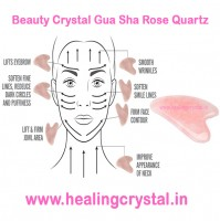 Beauty Crystal Gua Sha Rose Quartz
