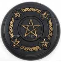 Pentacle 4 Elements Candle Holder