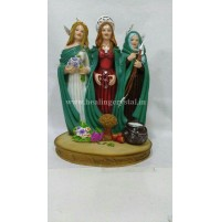 Statue Celtic Triple Goddess