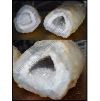Raw Geode - Clear Quartz Crystal