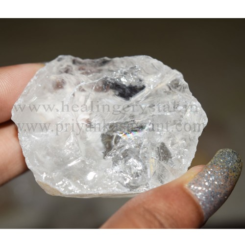 Raw Nirvana Himalayan Ice Quartz Crystal Small Piece Of 1kg Bag