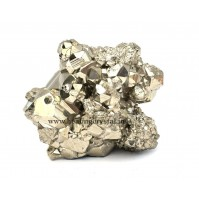 Raw Pyrite Gold Crystal Stone From Peru 1kg (Available In All Size)