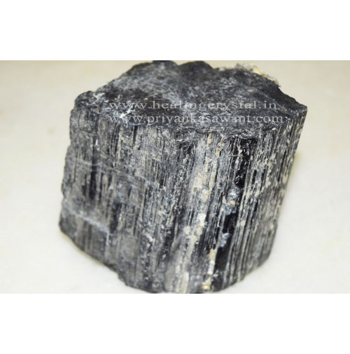 Raw Black Tourmaline Crystal 1 Big Piece Of 2kg