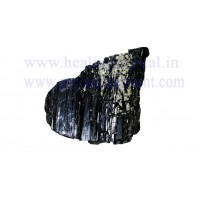 Raw Black Tourmaline Small Piece Crystal (Palm Size Stone)