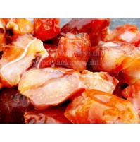 Raw Carnelian Crystal Small Piece Of 1kg Bag