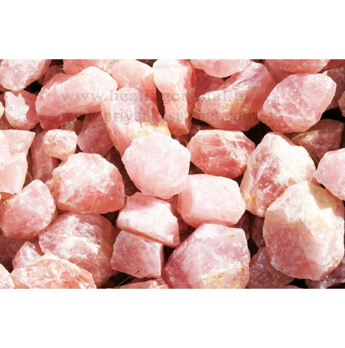 Raw Rose Quartz Crystal Small Piece Of 2kg Bag