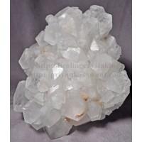 Raw White Apophyllite Crystal Cluster
