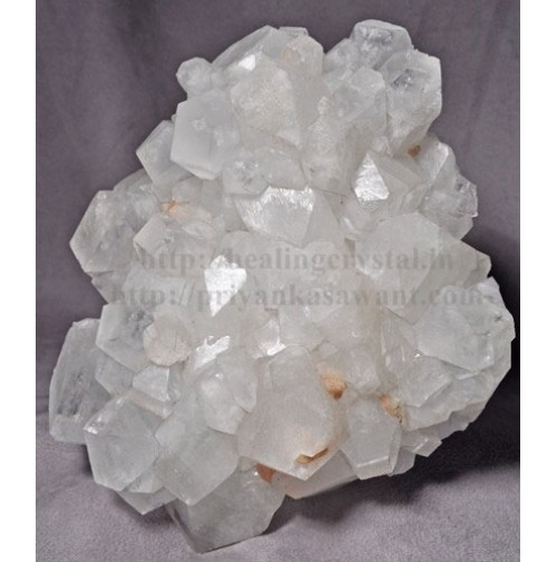 Raw White Apophyllite Crystal Cluster 1 Big Piece Of 2.75kg